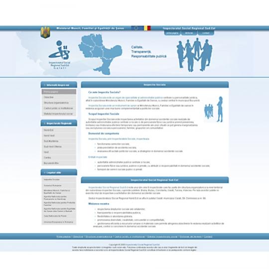 Inspectoratul Social Regional Sud-Est