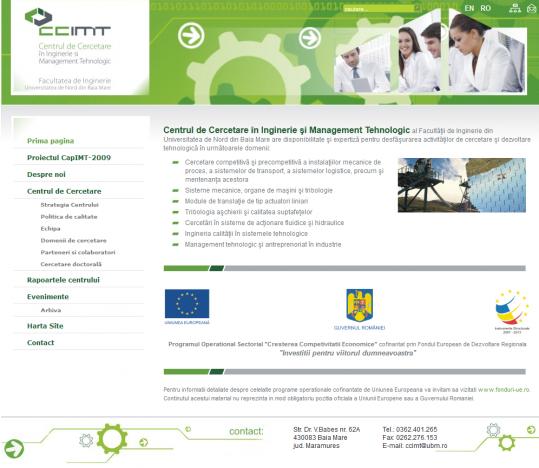 Centrul de Cercetare în Inginerie şi Management Tehnologic